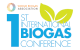 1st International Biogas Conference