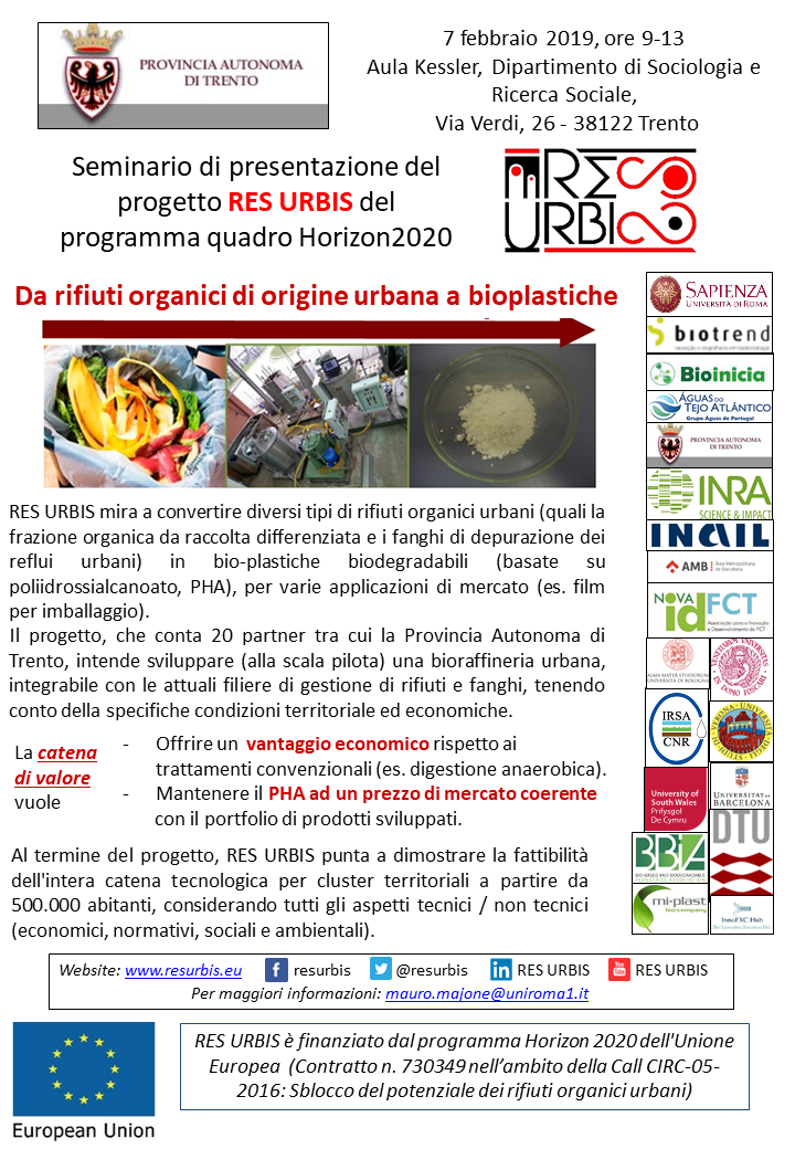 5th meeting, open session poster (italian)