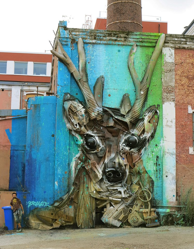 Bordalo II - Deer