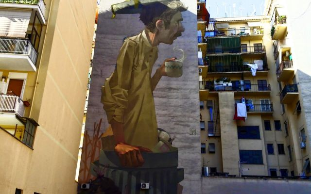 Coffee break, Etam Cru, Rome
