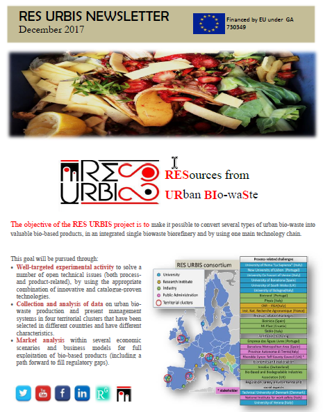 Res Urbis 1st Newsletter